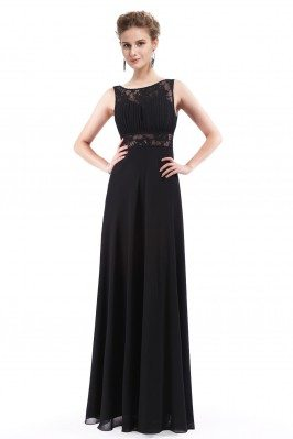 Women's Elegant Black Lace...