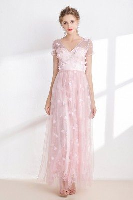 Blush Pink Tulle Sweetheart...