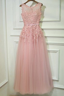 Gorgeous Pink Tulle Prom...