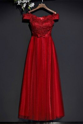 Gorgeous Red Lace High...