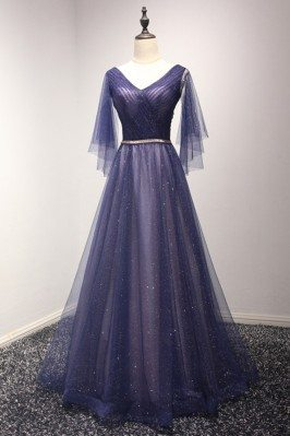 Sparkly Puffy Tulle Long...