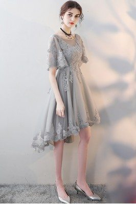 Elegant Grey Lace...