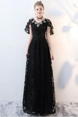 Black Lace Empire Long...