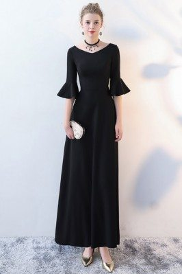 Elegant Maxi Long Black...