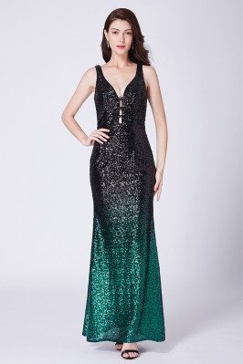 Black And Green Sparkly...