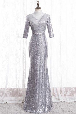 Sparkly Formal Silver...