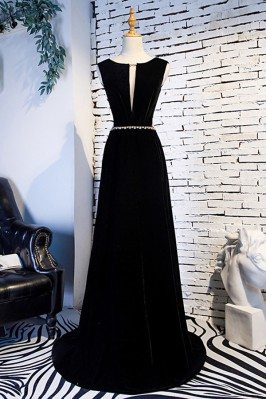 Formal Long Black Evening...