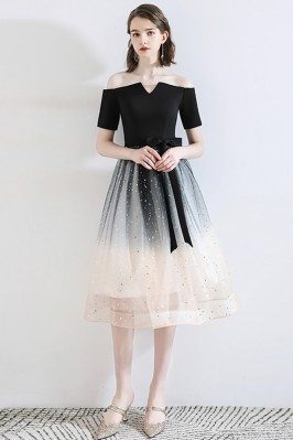 Ombre Black Sparkly Sequins...