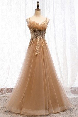 Beaded Long Tulle Special...
