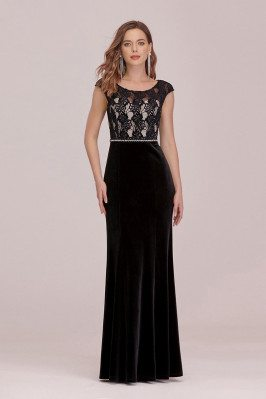 Sassy Long Black Formal...