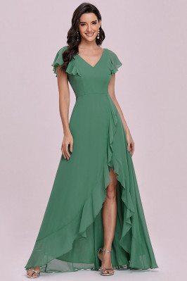 Sweet Green Chiffon...