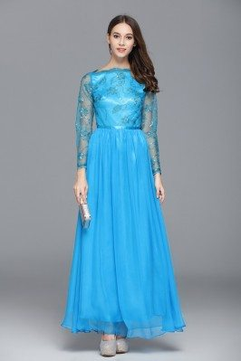Sequined Long Sleeve Party Dress