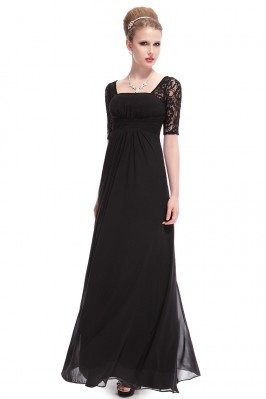 Black Lace Short Sleeve...