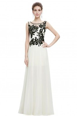 White and Black Long...