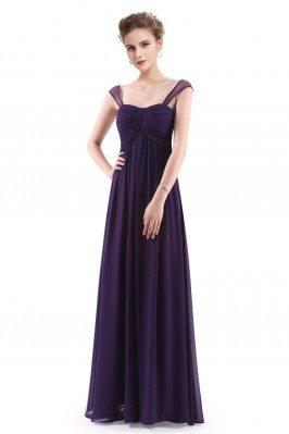 Dark Purple Simple Corset...