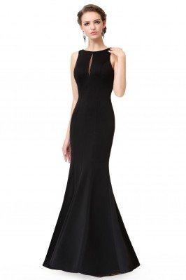 Simple Black Sleeveless...