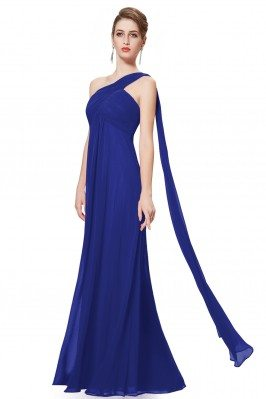 Navy Blue A-line One...
