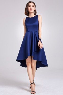 Navy Blue Sleeveless High...