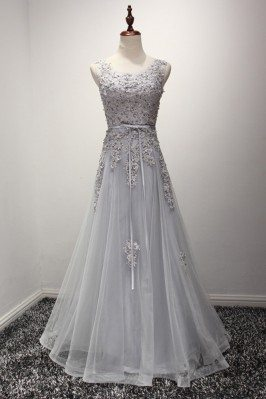 Vintage Dusty Grey Formal...