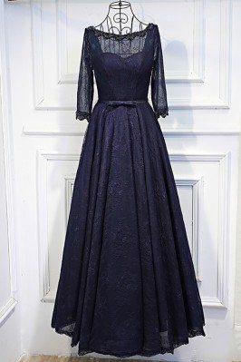 Vintage 3/4 Sleeve Navy...