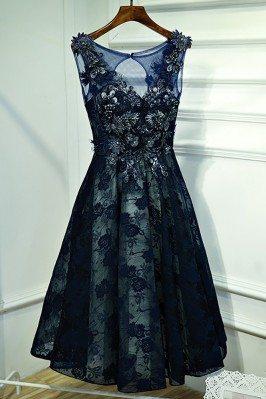 Gorgeous Navy Blue Lace...