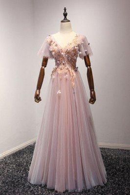 Outstanding Applique Pink...