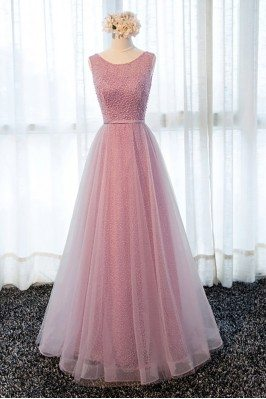 Gorgeous Rose Pink Long...
