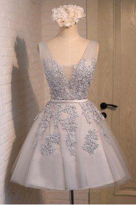 Gorgeous Lace Tulle Short...