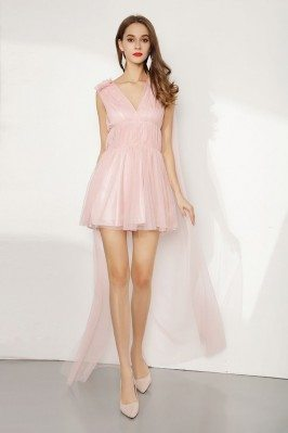 Hi Low Short Pink Tulle...