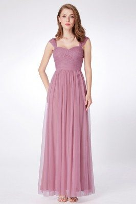 Orchid Flowy Tulle Long...