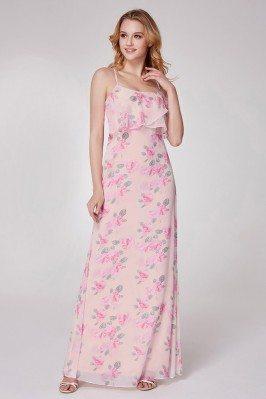 Floral Printed Pink...