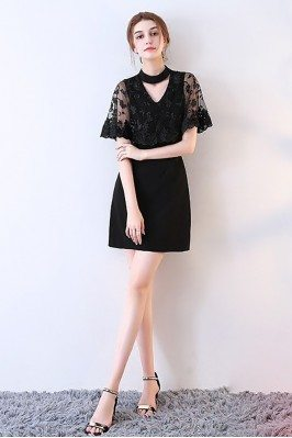 Sheath Little Black Lace...