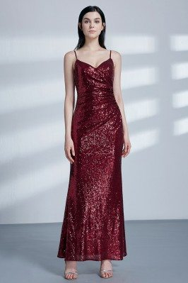 Glitter Sequin Burgundy...