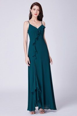 Long Fashion Dark Green...