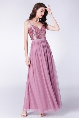 Sparkly Sequin Long Pink...
