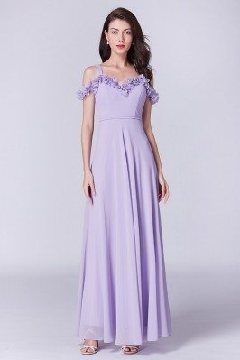 Off The Shoulder Lavender...