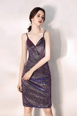 Sparkly Purple Bodycon...