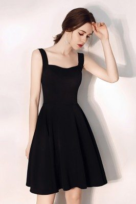 Little Black Aline Semi...